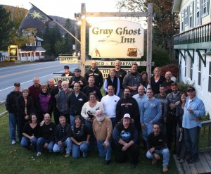 Group Gathers At Gray Ghost Inn