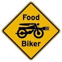 Food Biker Logo