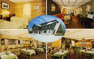 Norway Lodge Postcard