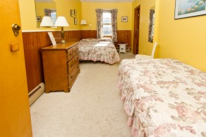 Double and Single Bed - Room 209