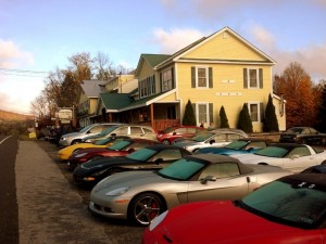 Gray Ghost Inn with Vintage Cars