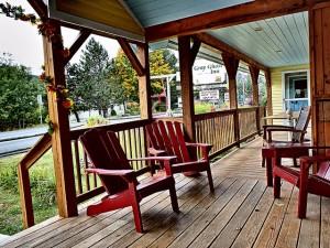Gray Ghost Inn Porch