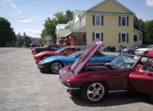 Corvettes at Gray Ghost Inn