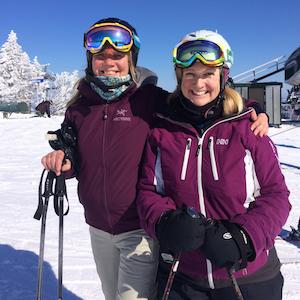 Gray Ghost Inn Skiers