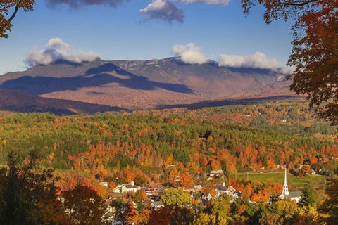 Vermont in autumn