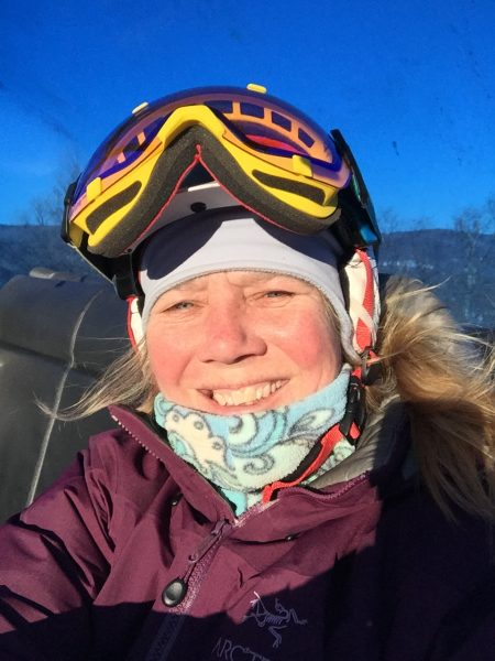 Carina Skiing
