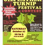 Gilfeather Turnip Fest