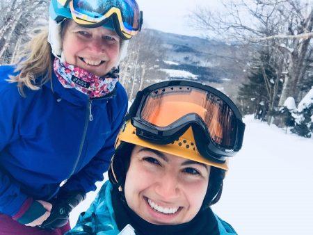 Carina and friend Snow