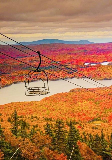 Autumn Ski Lift Oct 2020