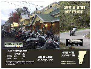 Motorcycle Brochure 2019