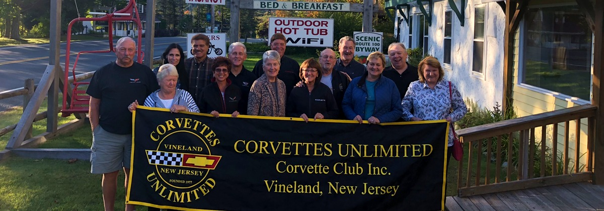 Corvettes Unlimited at Gray Ghost Inn