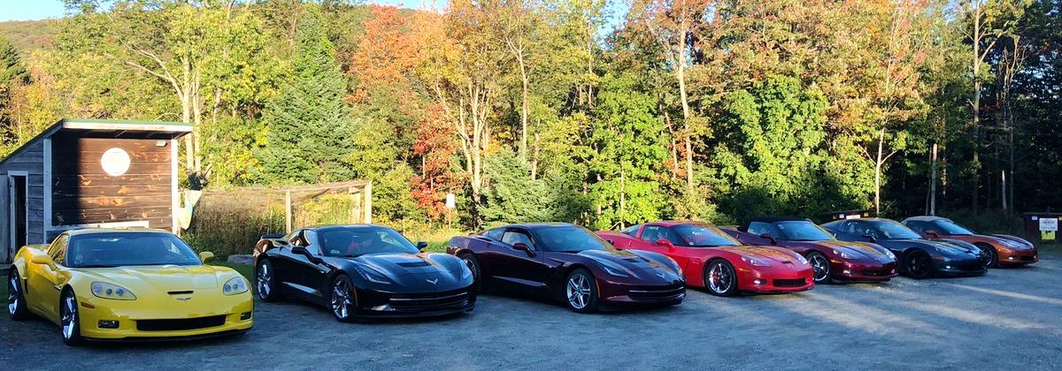Corvettes at Gray Ghost Inn